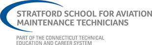 Stratford School for Aviation Maintenance Technicians Logo